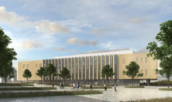 Nouveau centre des congrès Robert Schuman de Metz